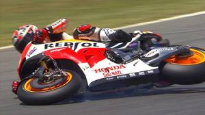 marquez first crash